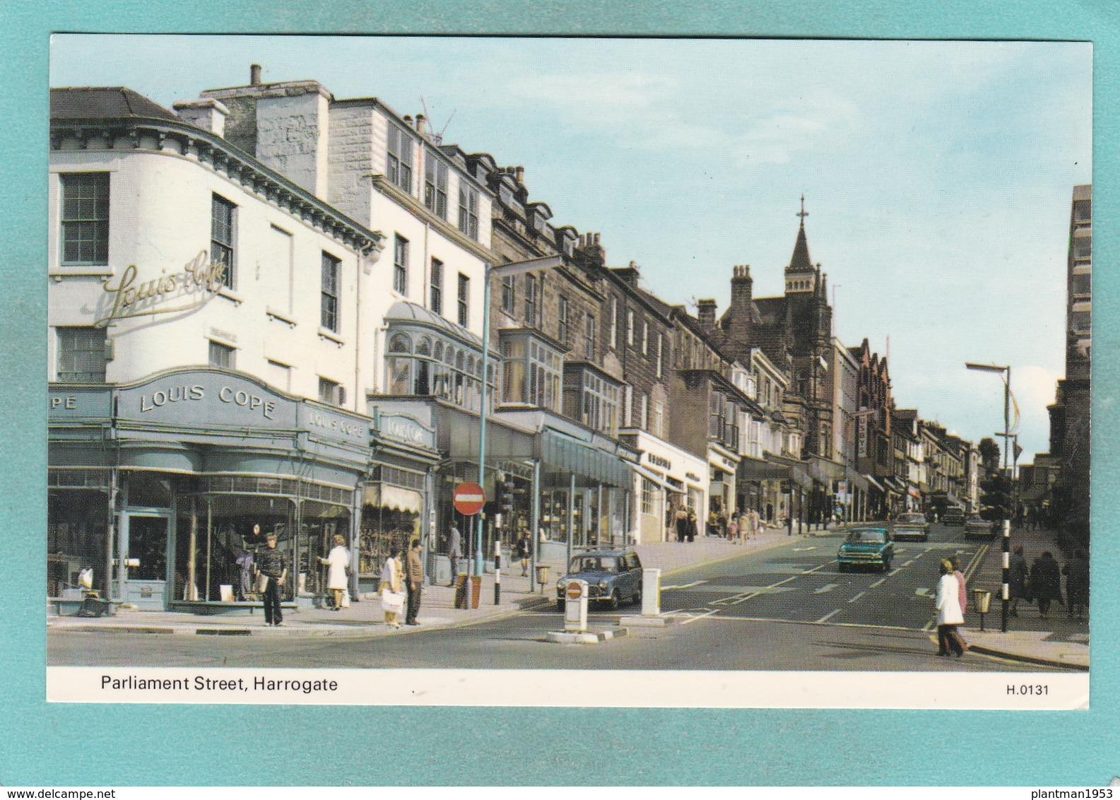 Old Small Post Card Of Parliament Street,Harrogate,N68. - Harrogate