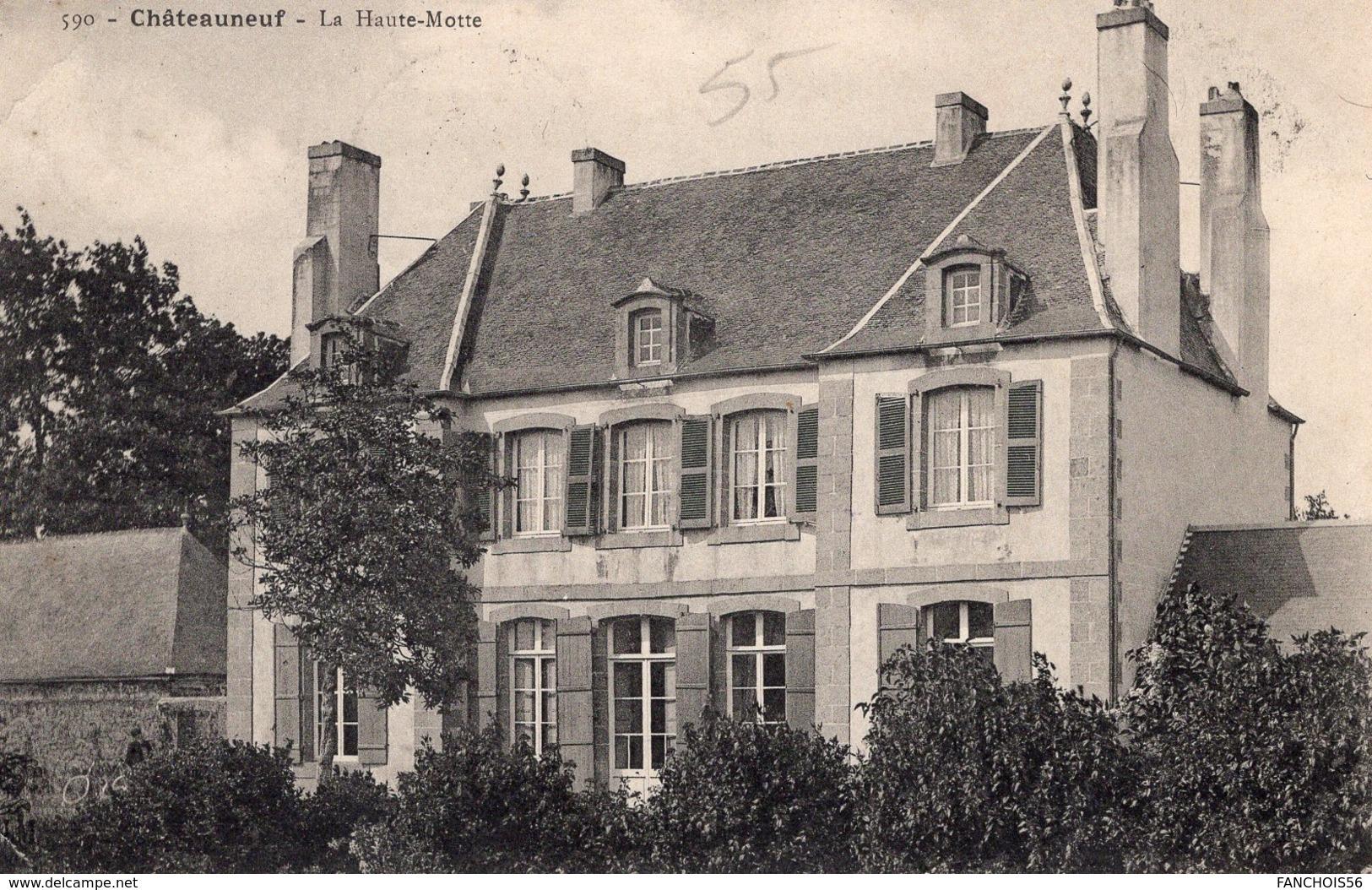 Châteauneuf De Bretagne (35) - Le Château De La Haute - Motte. - France