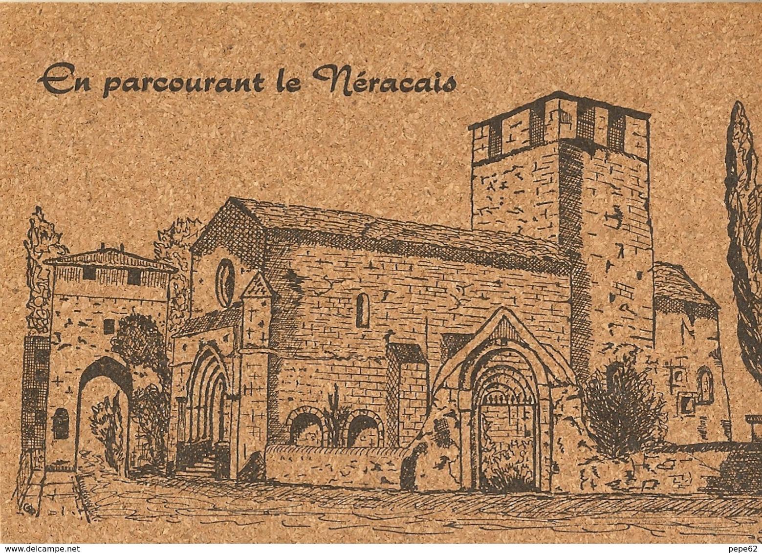 Vianne-l'église-en Parcourant Le Néracais-cpm En Liège - Cartes Postales