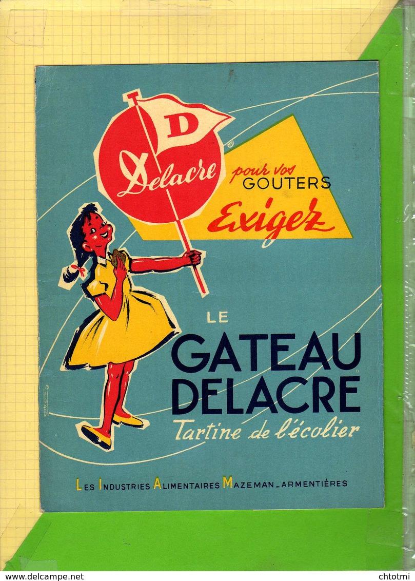 PROTEGE CAHIER    : Le GATEAU DELACRE Armentieres - Protège-cahiers