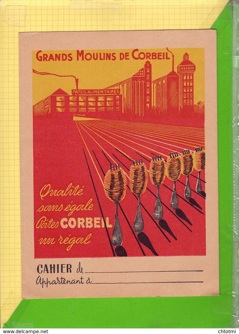 PROTEGE CAHIER    : GRANDS MOULINS De CORBEIL - Protège-cahiers