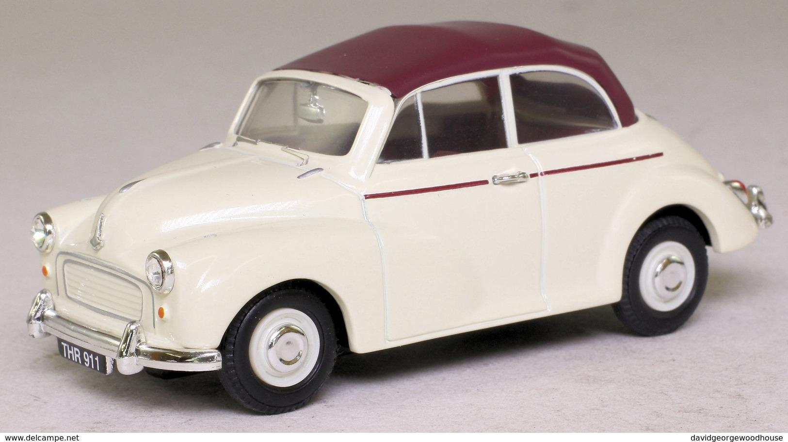 Morris Minor Convertible: Cream & Maroon. - Cars & 4-wheels
