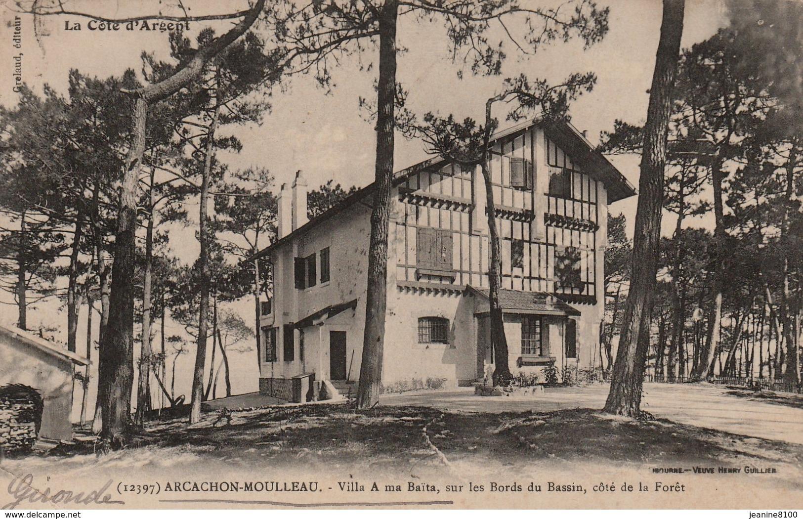 Arcachon - Moulleau - Villa A Ma Baita , Sur Les Bords Du Bassin - Arcachon