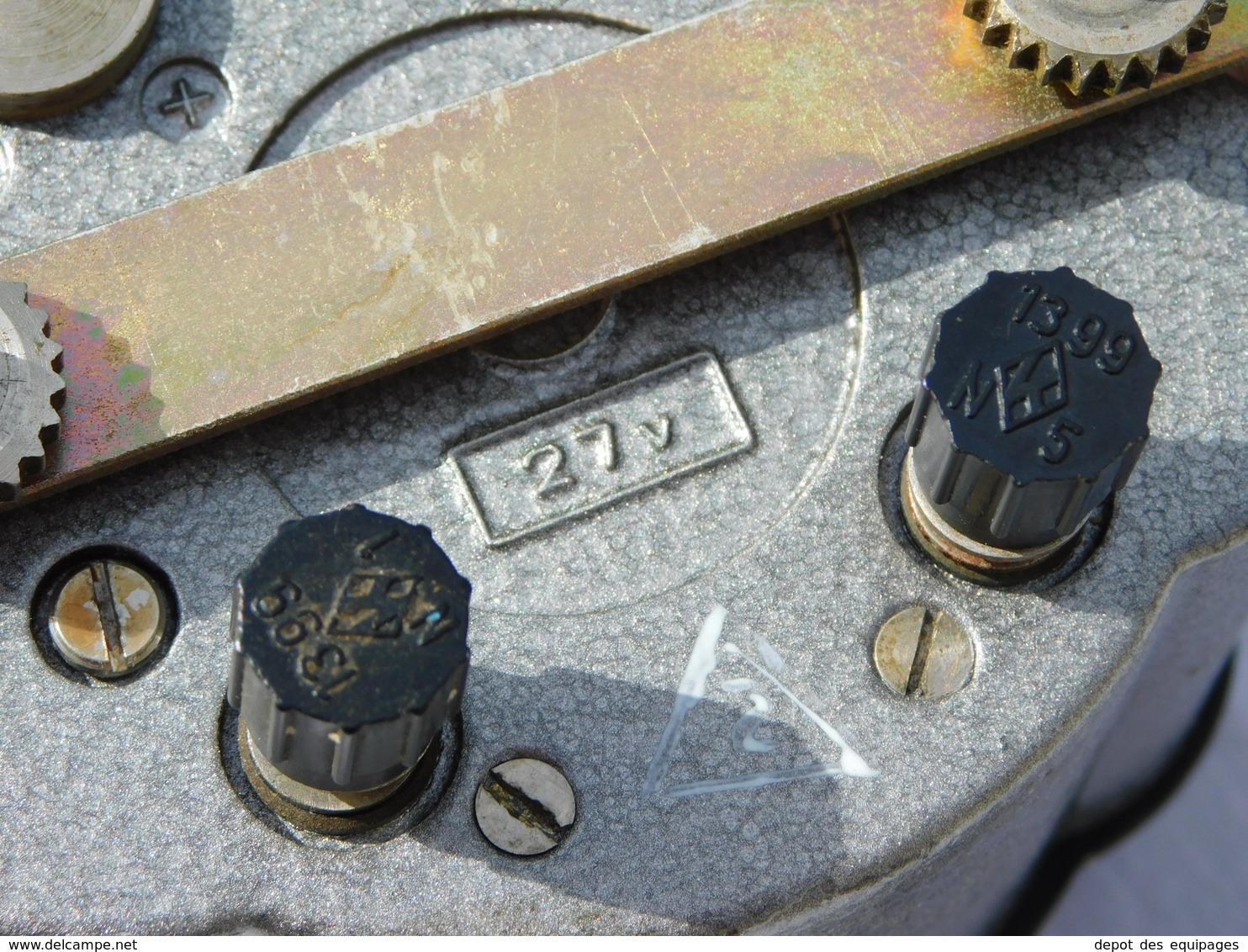 TRES BEAU CHRONOMETRE HORLOGE DE BORD SOVIETIQUE - MIG  - #.2 - Radio