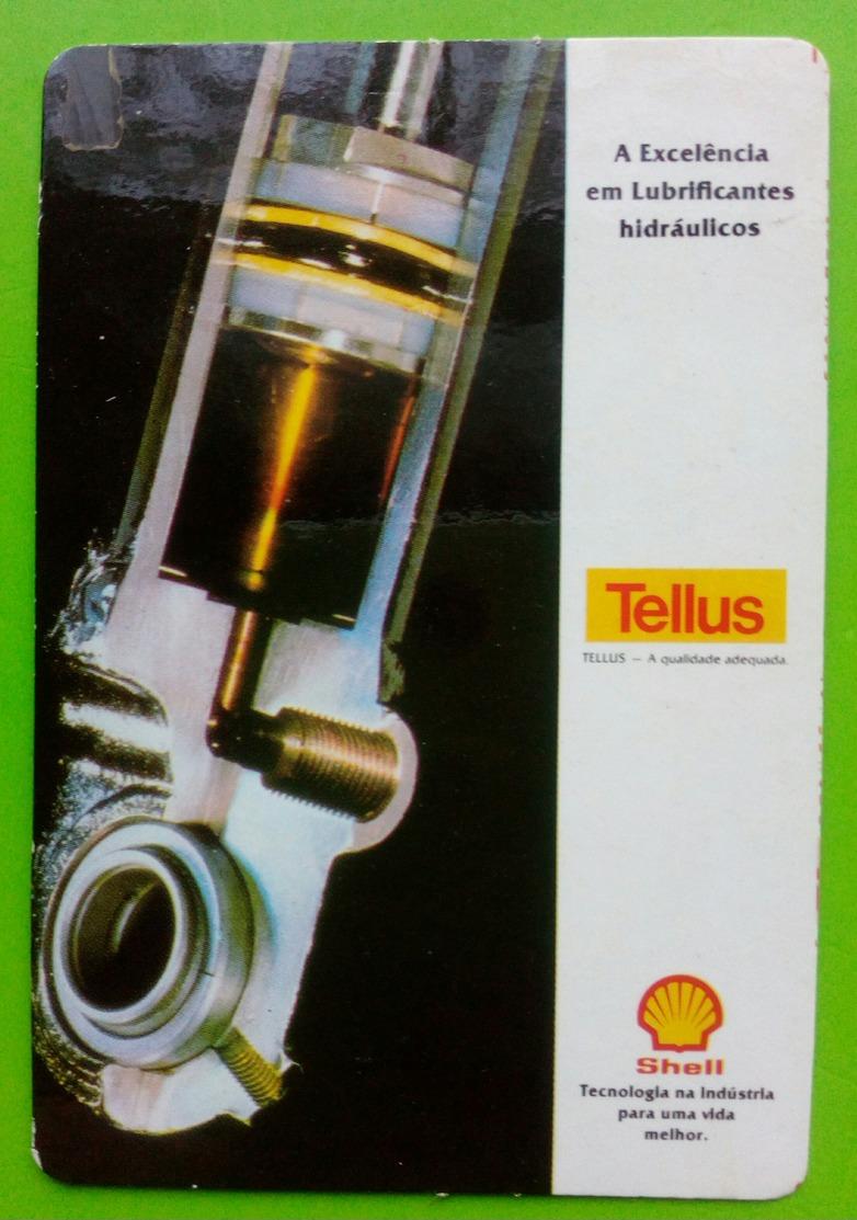 Calendrier De Poche Shell 1991 - Calendarios