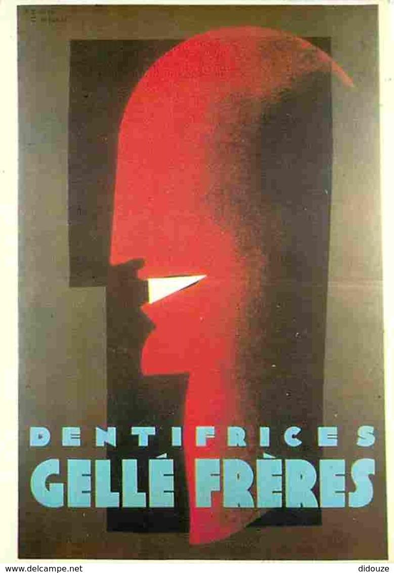 Publicite - Dentifrices Gellé Frères - Jean Carlu - Flamme Postale De Jean Carlu - Voir Scans Recto-Verso - Publicité