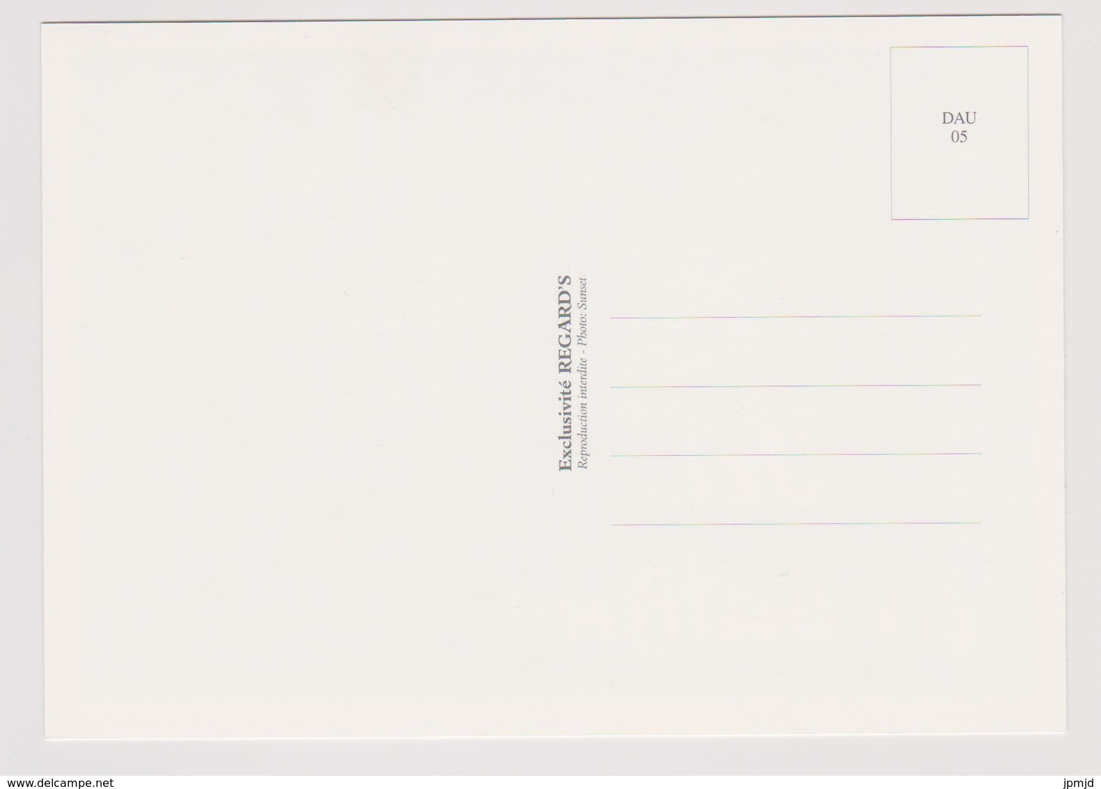 Ici ça Baigne - Dauphins - Exclusivité REGARD'S N° DAU 05 - Dauphins