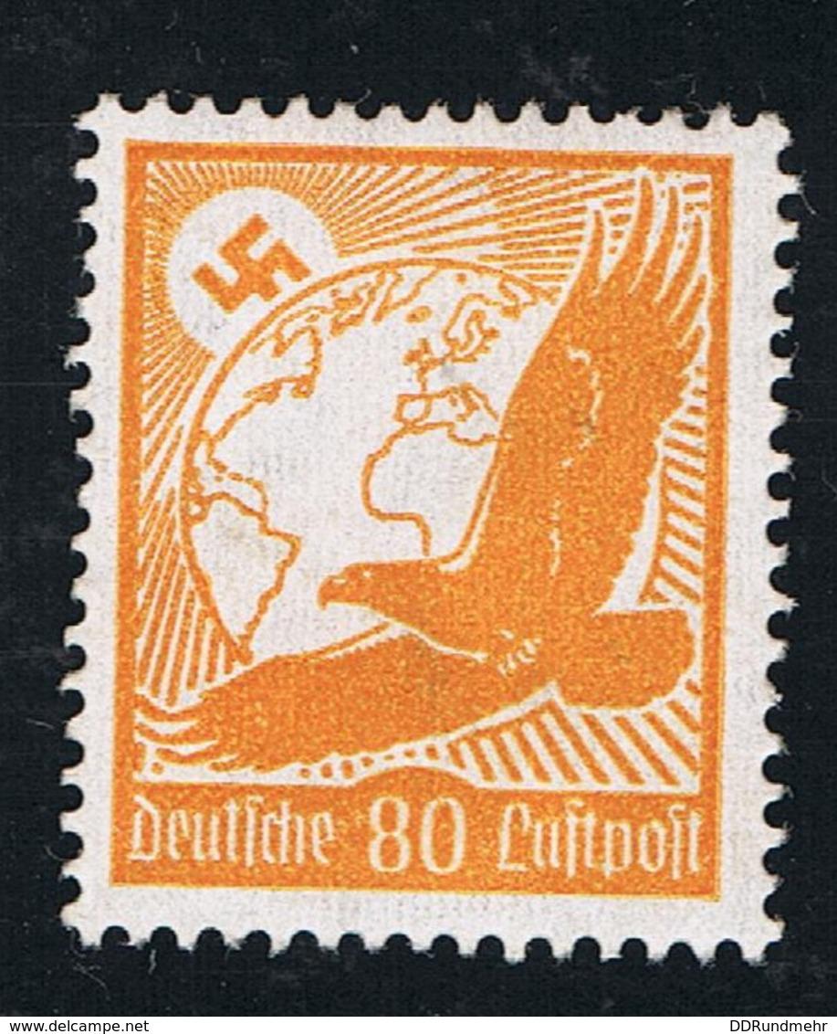 1934 21. Jan. Goldener Adler Mi DR 536x Sn DE C53 Yt DR PA50 Sg DR 533 AFA DR 531 M. G. Und Falz - Germania