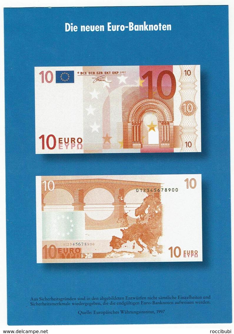 Die Neuen 10 Euro Banknoten - Monnaies (représentations)