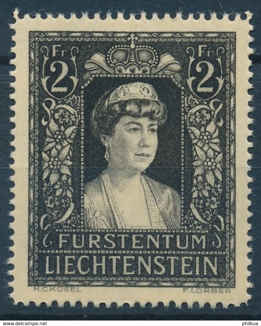 216 / 256 LICHTENSTEIN Serie Postfrisch/** - Unused Stamps
