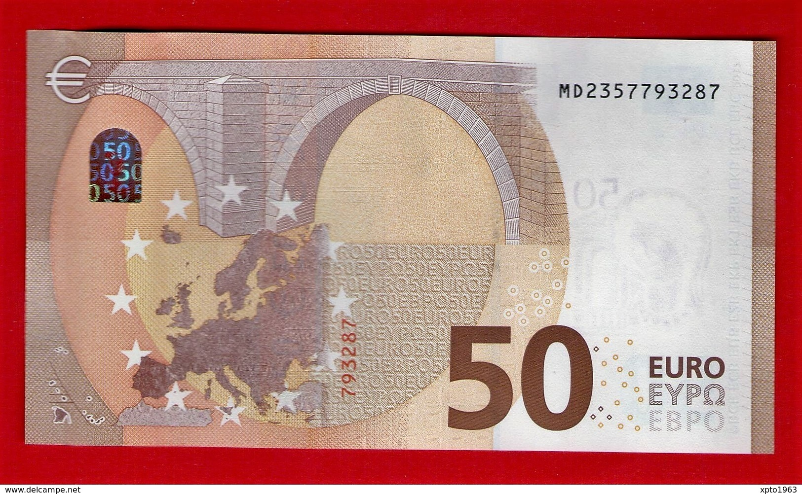 50 EURO PORTUGAL M008 F1 - MD2357793287 - M008F1 - UNC FDS NEUF - EURO