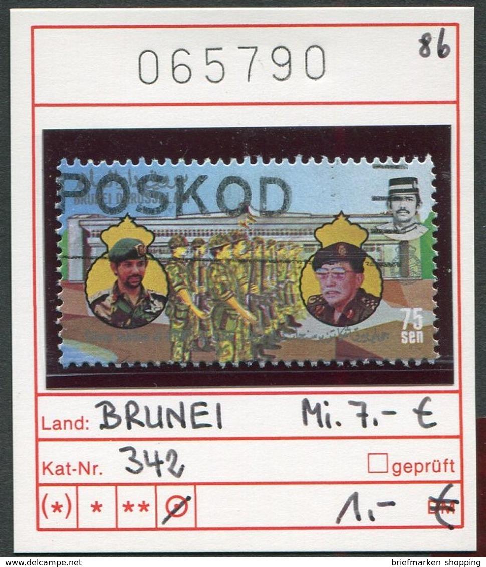 Brunei - Michel 342 - Oo Oblit. Used Gebruikt - - Brunei (1984-...)