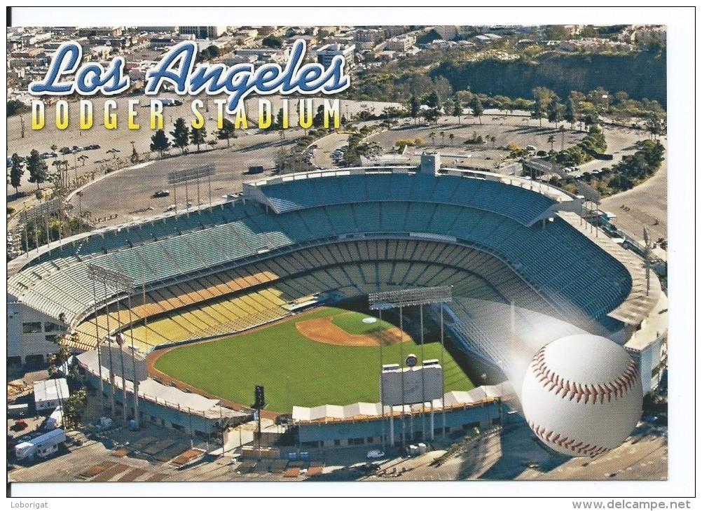"ESTADIO - STADIUM - STADE - STADION .-  "" DODGER "" .- LOS ANGELES.- ( USA ) - Fútbol"