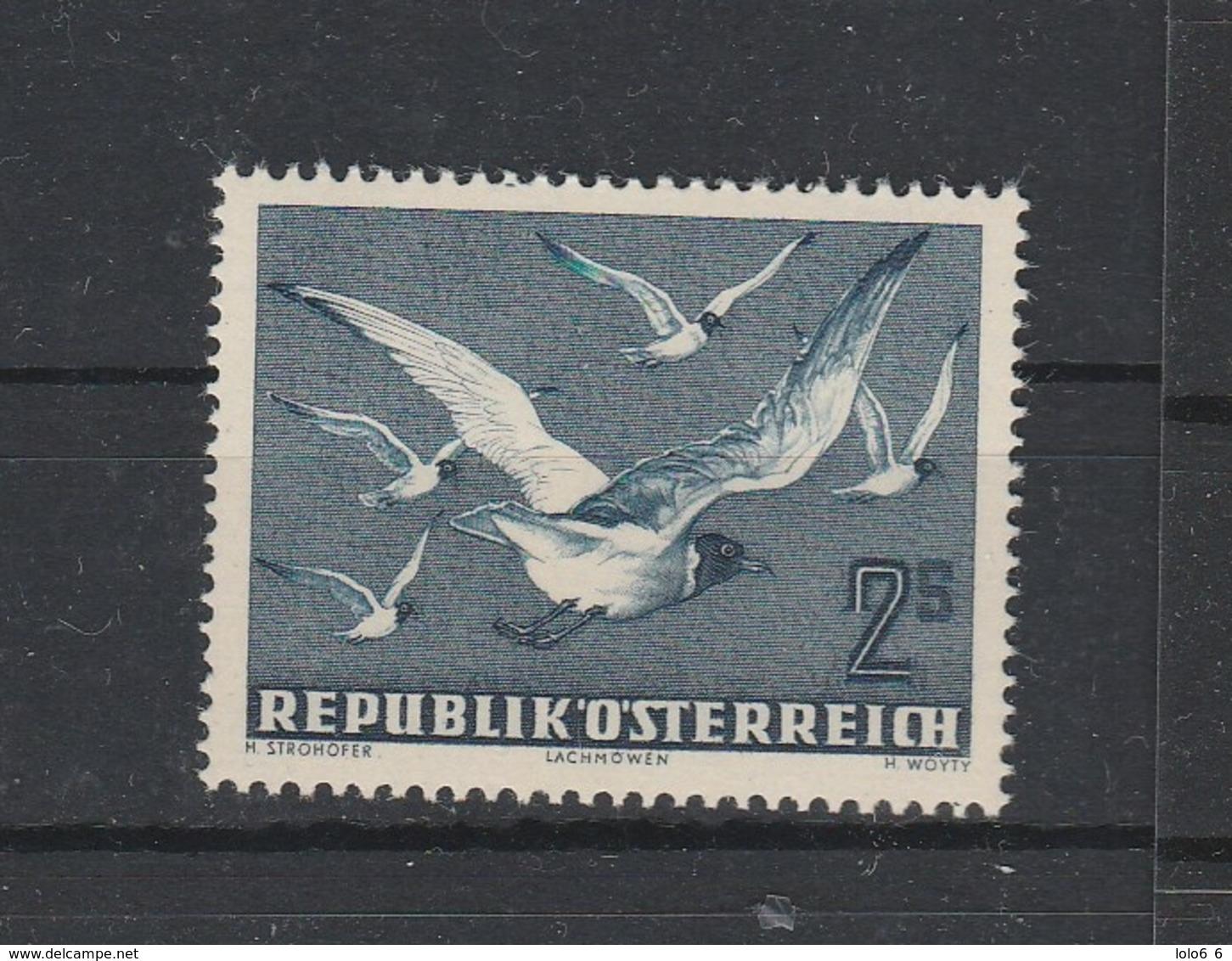 Mi. Nr. 956 Ex. Vögel Postfrisch - 1945-.... 2ème République