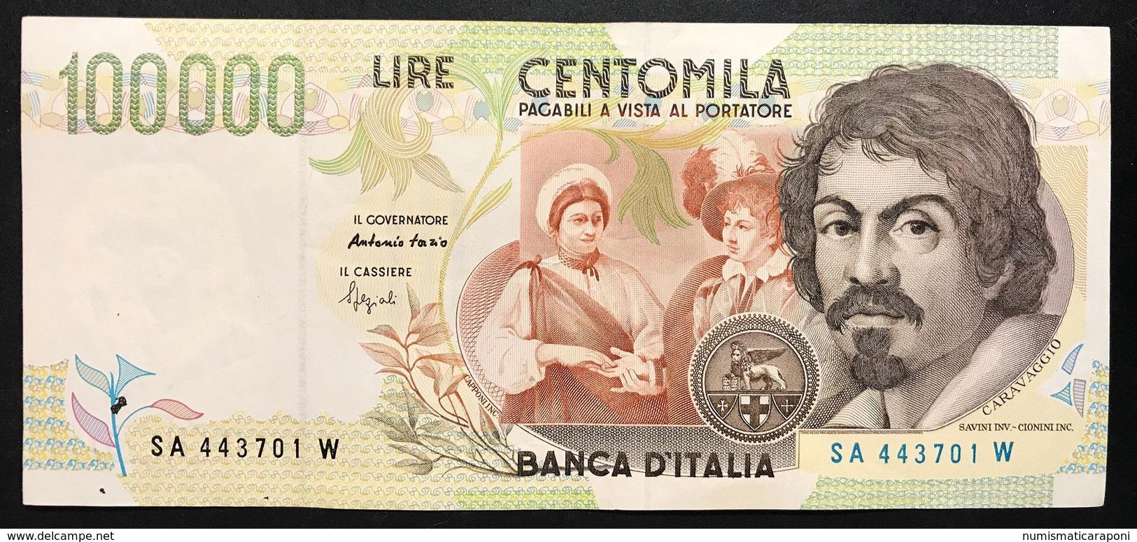 100000 Lire CARAVAGGIO 2° TIPO SERIE A 1994 Spl+ LOTTO 768 - 100.000 Lire