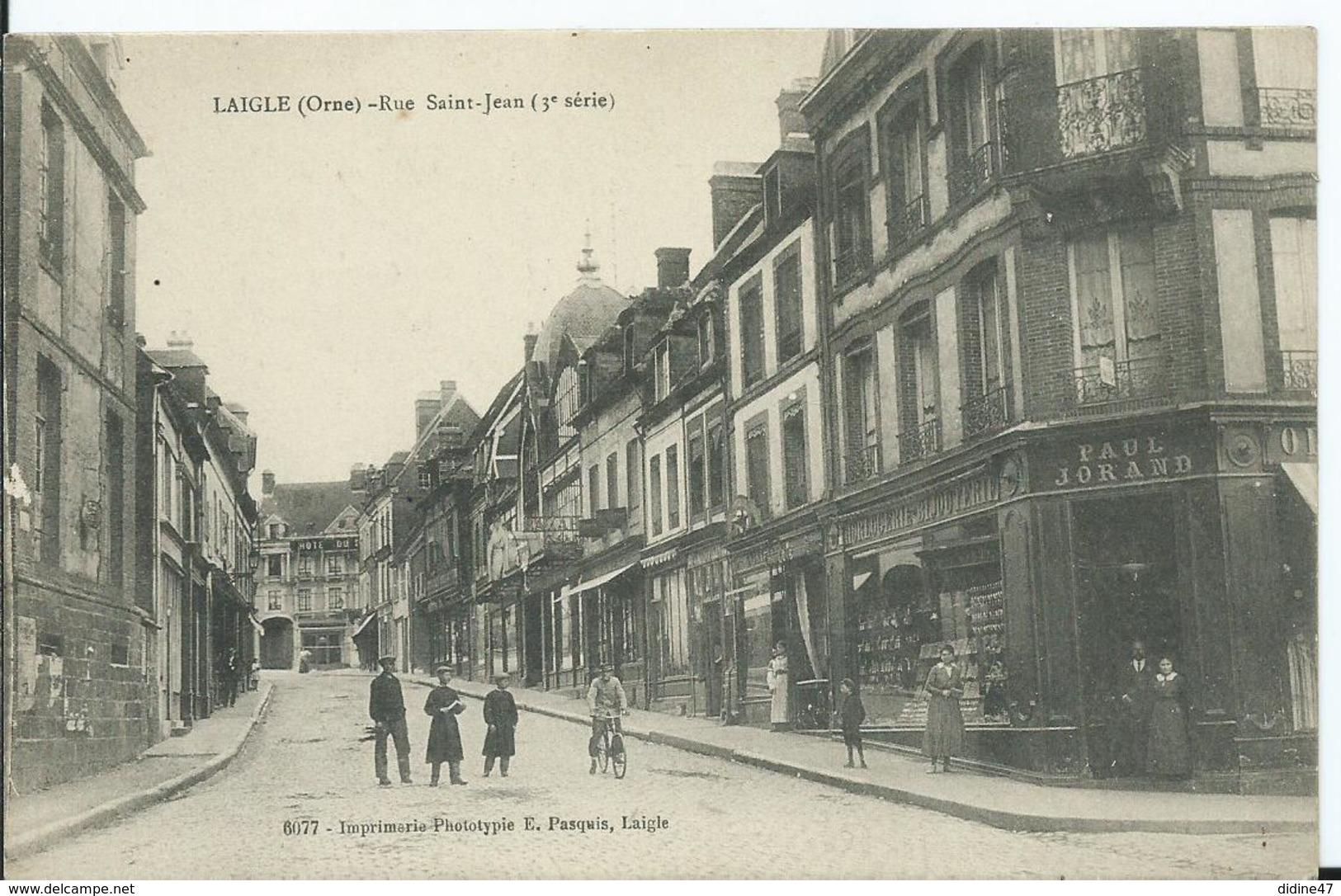 LAIGLE - Rue Saint Jean - L'Aigle