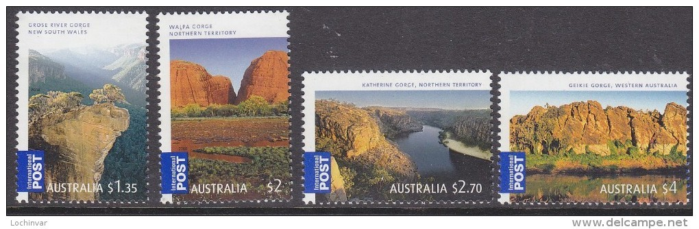 AUSTRALIA, 2008 GORGES 4 MNH - 2000-09 Elizabeth II