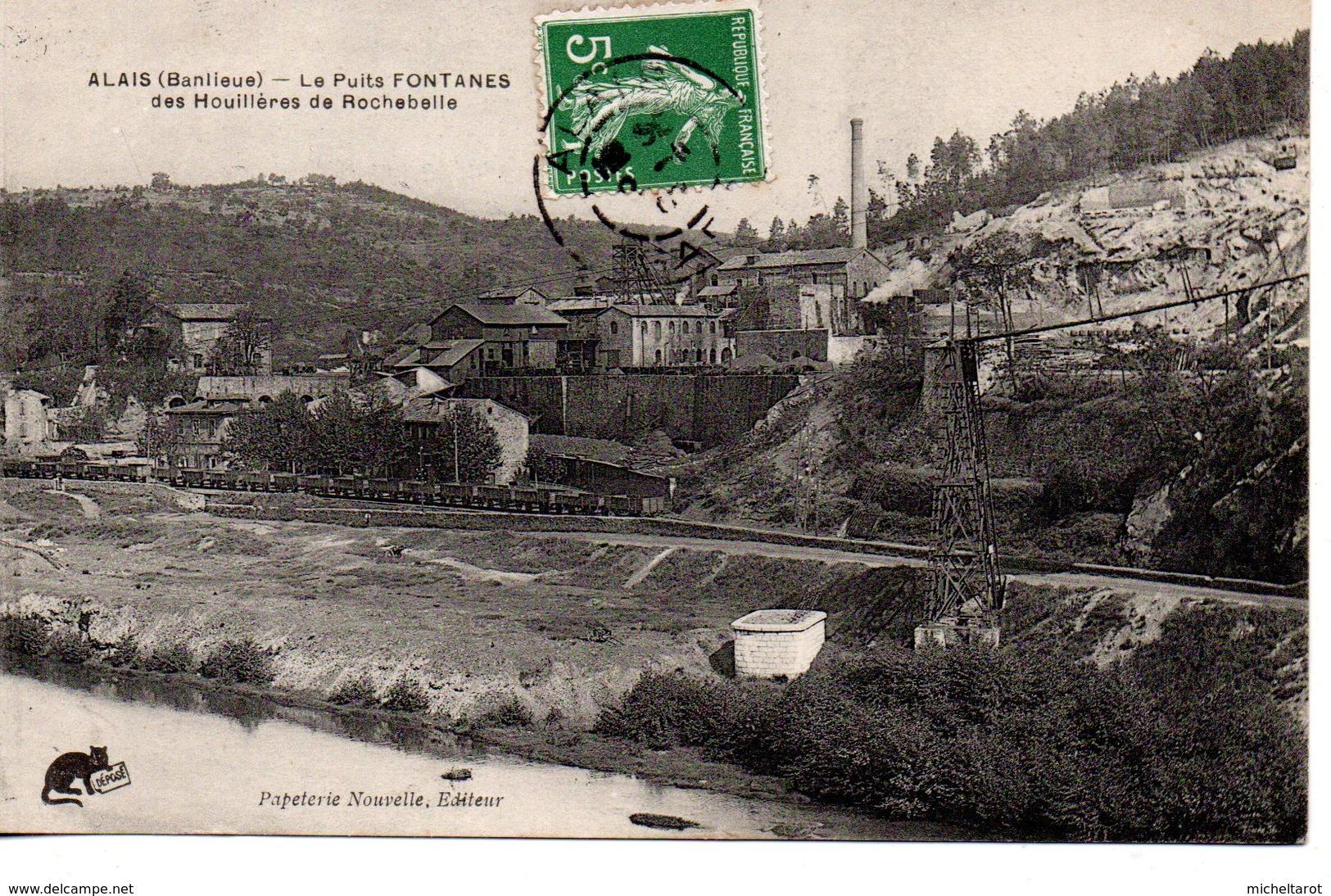Gard : Alès : Le Puits Fontaines - Alès
