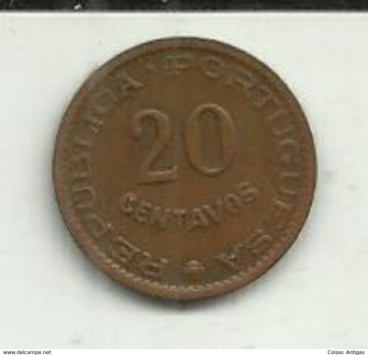 20 Centavos 1970 Timor - Timor