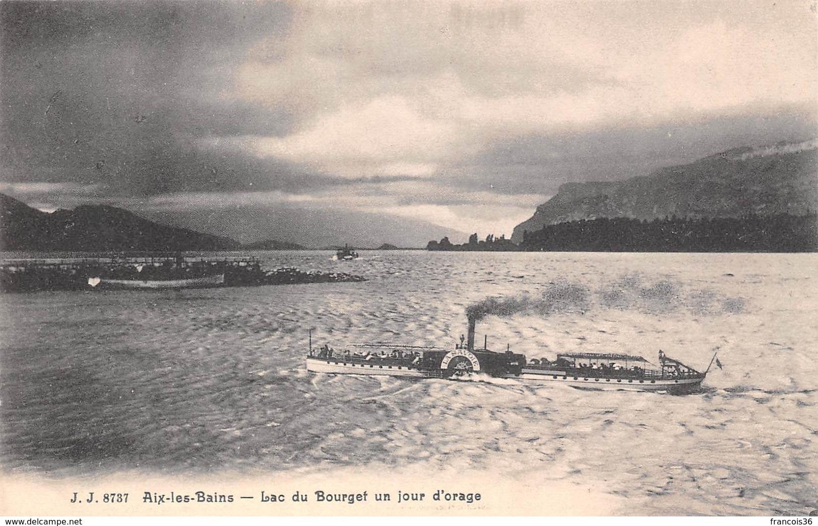 Aix Les Bains (73) - Lac Du Bourget Un Jour D'orage - Aix Les Bains