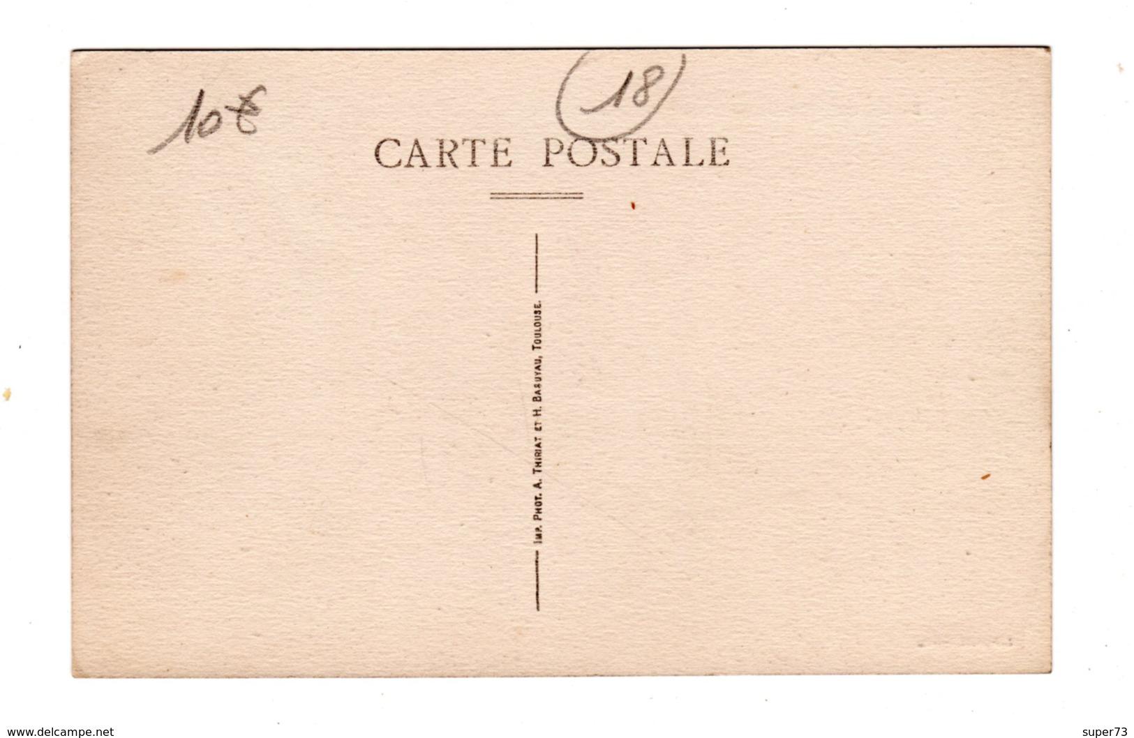 CPA 18 - St Amand Montrond ( Cher ) - Canal Du Berry - Saint-Amand-Montrond