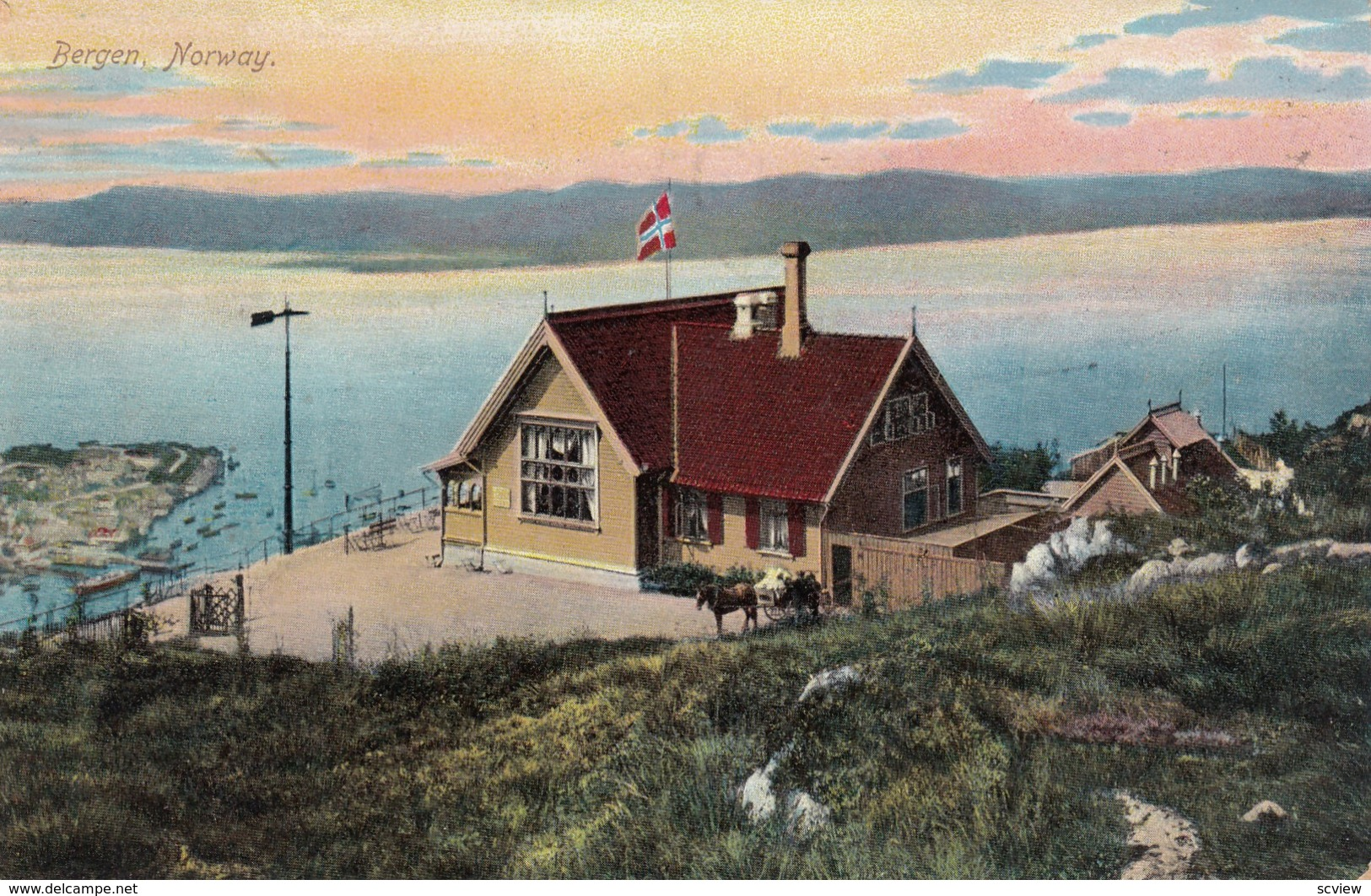 Bergan , Norway , 1908 - Norvège