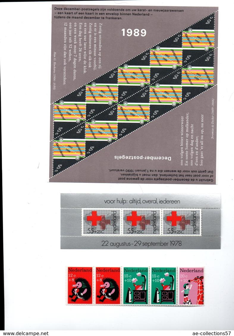 Pays Bas / Lot De Timbres / Etats Divers - Blocks & Sheetlets