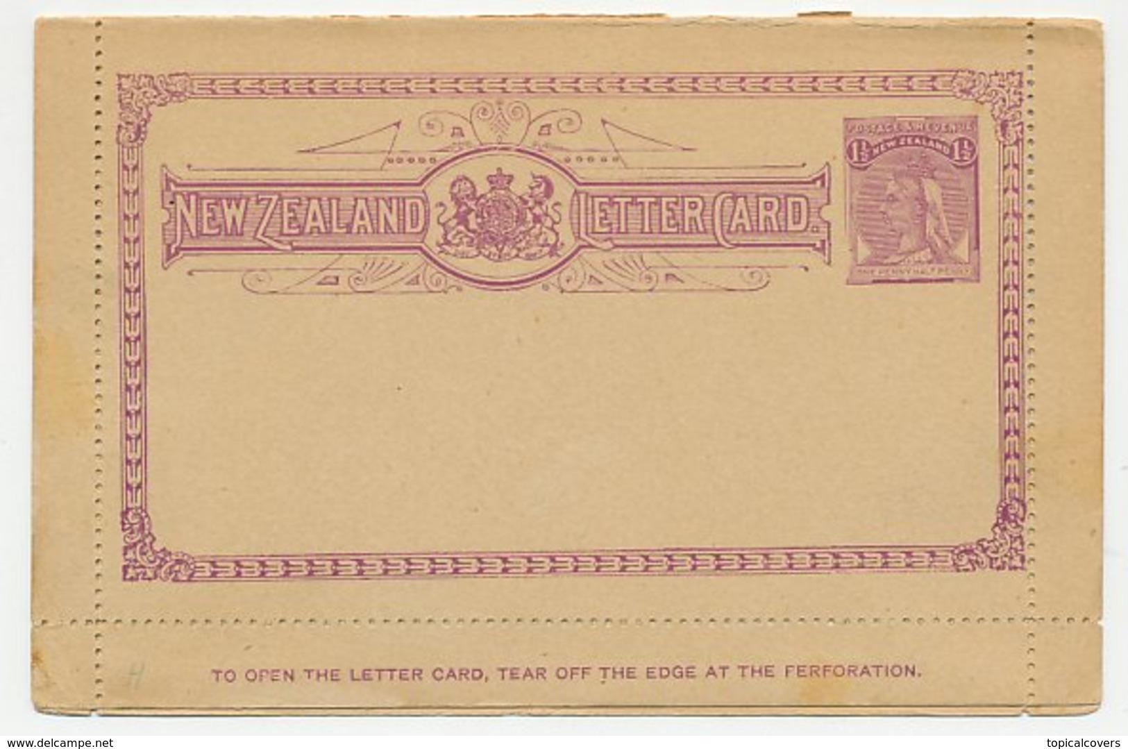 Postal Stationery New Zealand Bird - Kiwi - Mount Cook - Oiseaux