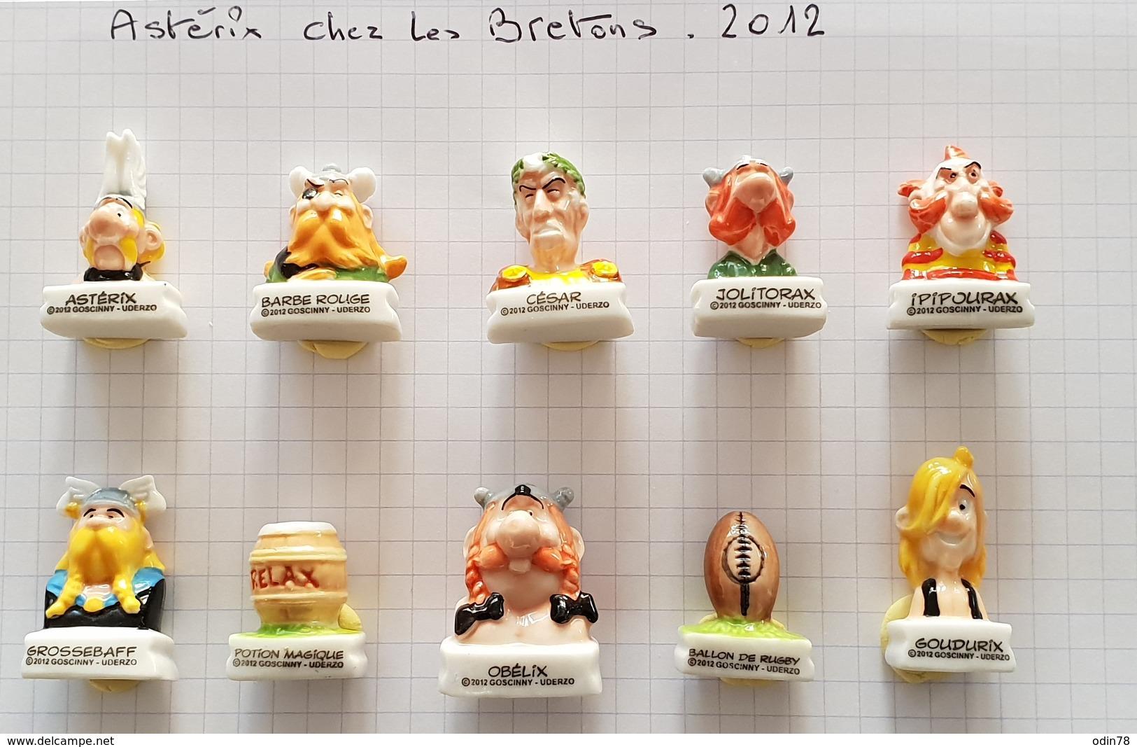 FEVES  :  ASTERIX & OBELIX  - CHEZ LES BRETONS   2012 - Dessins Animés