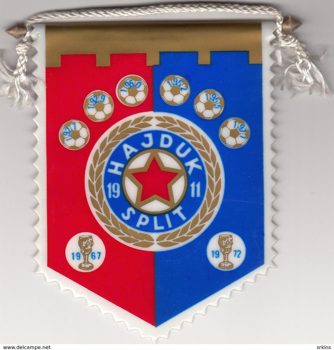 Pennant NK FC Hajduk Split Croatia Yugoslavia Football - Apparel, Souvenirs & Other