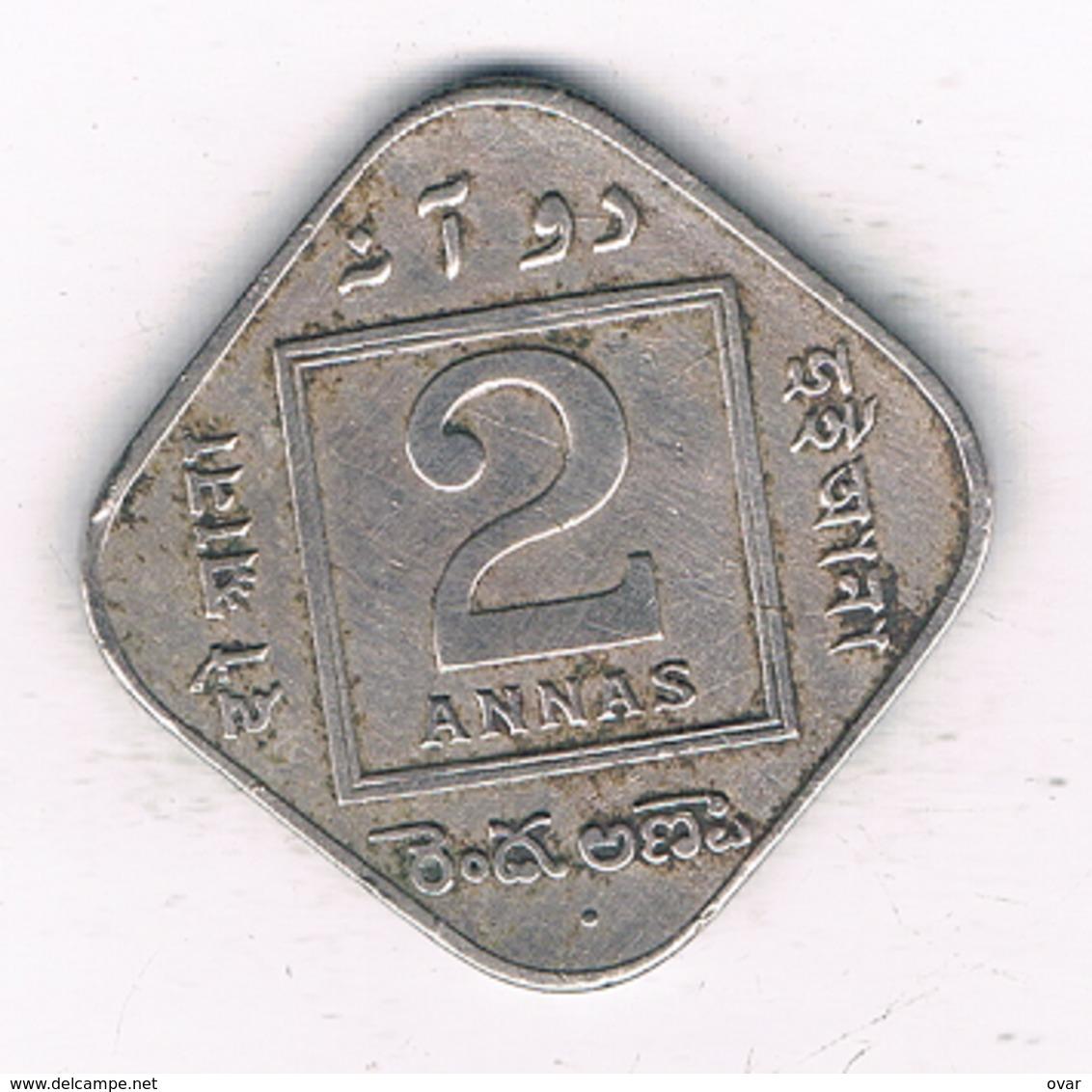 2 ANNAS 1936  INDIA/2088/ - Indien
