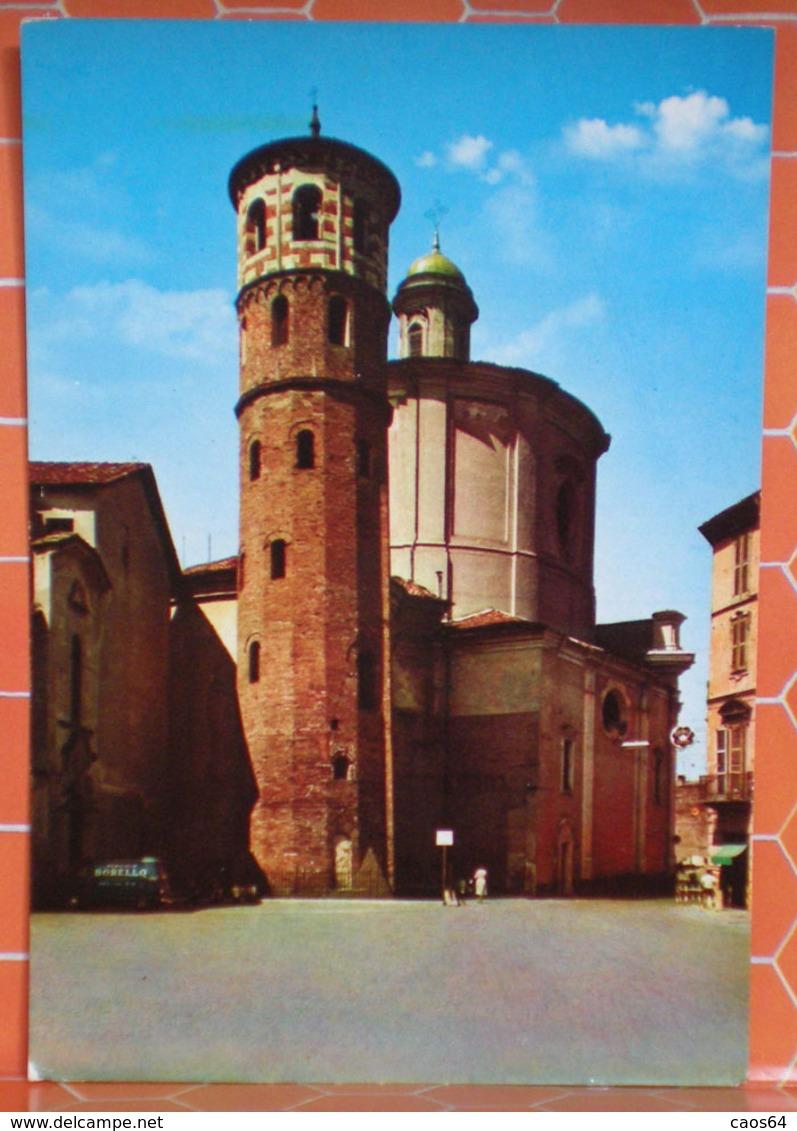 Asti Torre Rossa Augustea Chiesa S. Caterina Cartolina - Asti