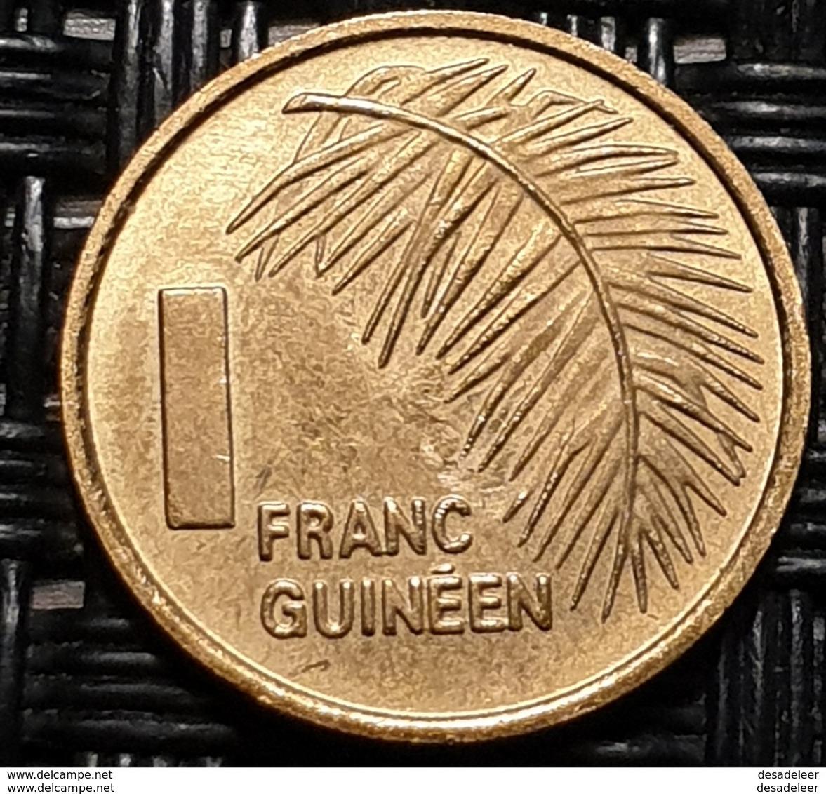 Guinea 1 Franc 1985 - UNC - Guinea