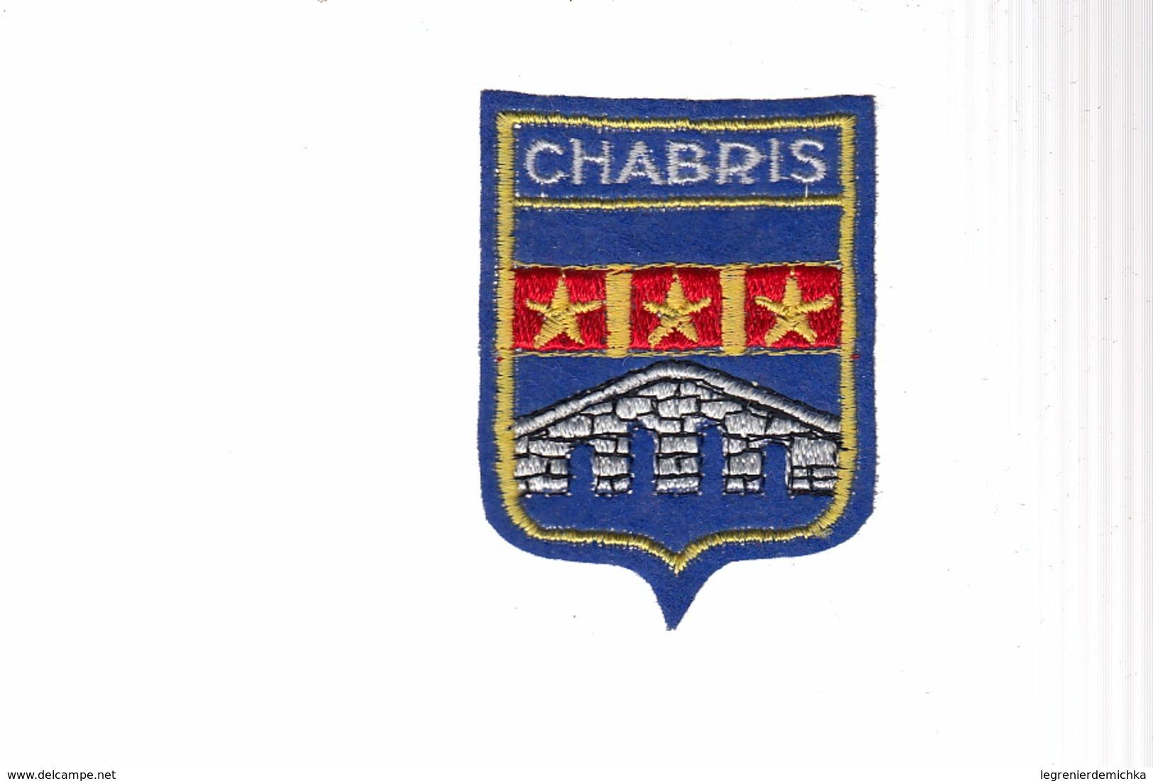ECUSSON TISSU BRODE - CHABRIS - Ecussons Tissu