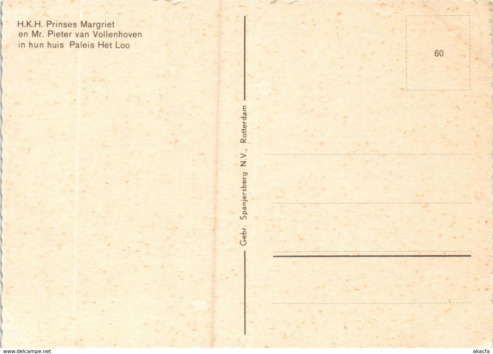 CPM HKH Prinses Margriet En De Heer Mr. V. Vollenhoven DUTCH ROYALTY (814135) - Familles Royales