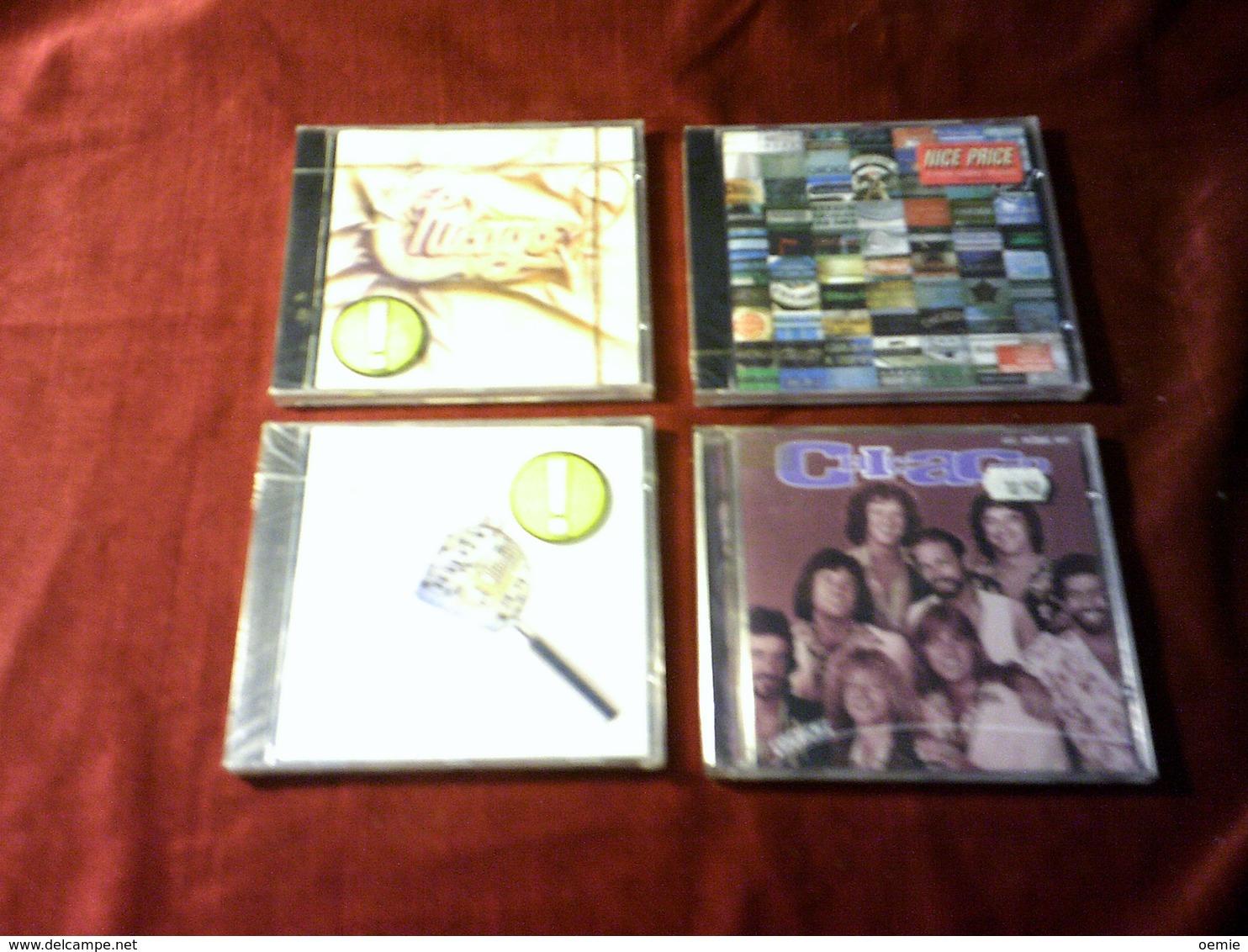 CHICAGO    ° LOT DE 4 CD ALBUM - Other - English Music