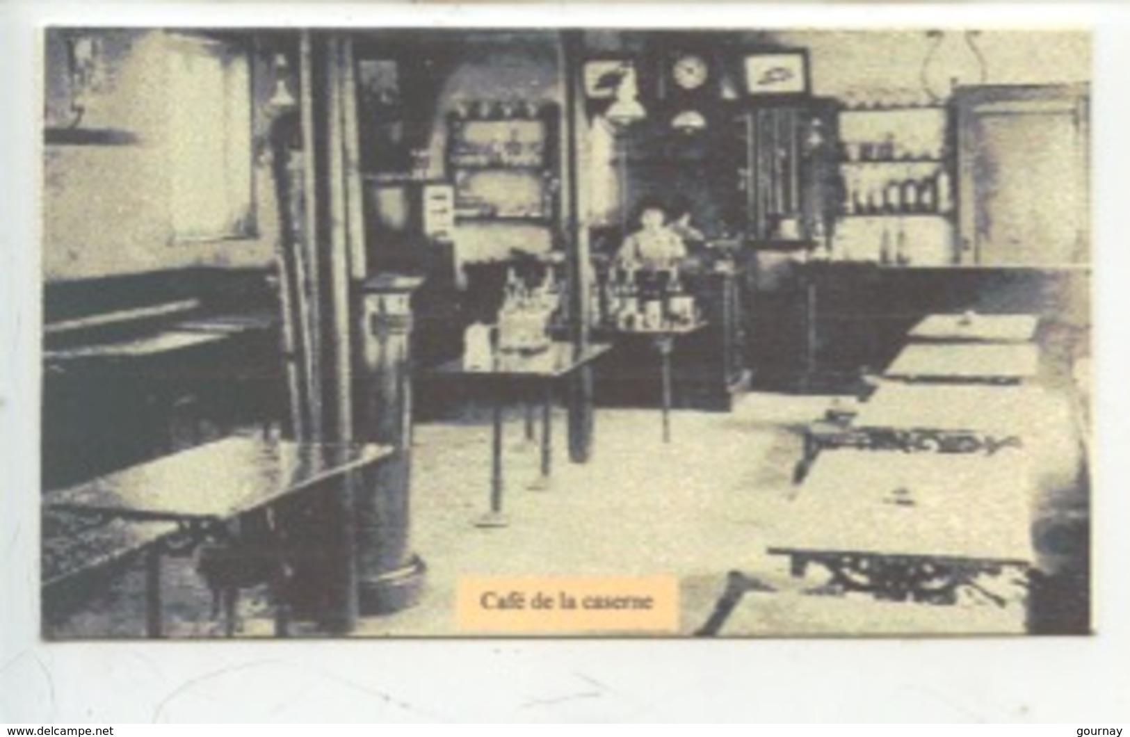 Le Havre : Café De La Caserne (douane) EMBUSCADE -  Cp Double Vierge 2 Scan - Douane
