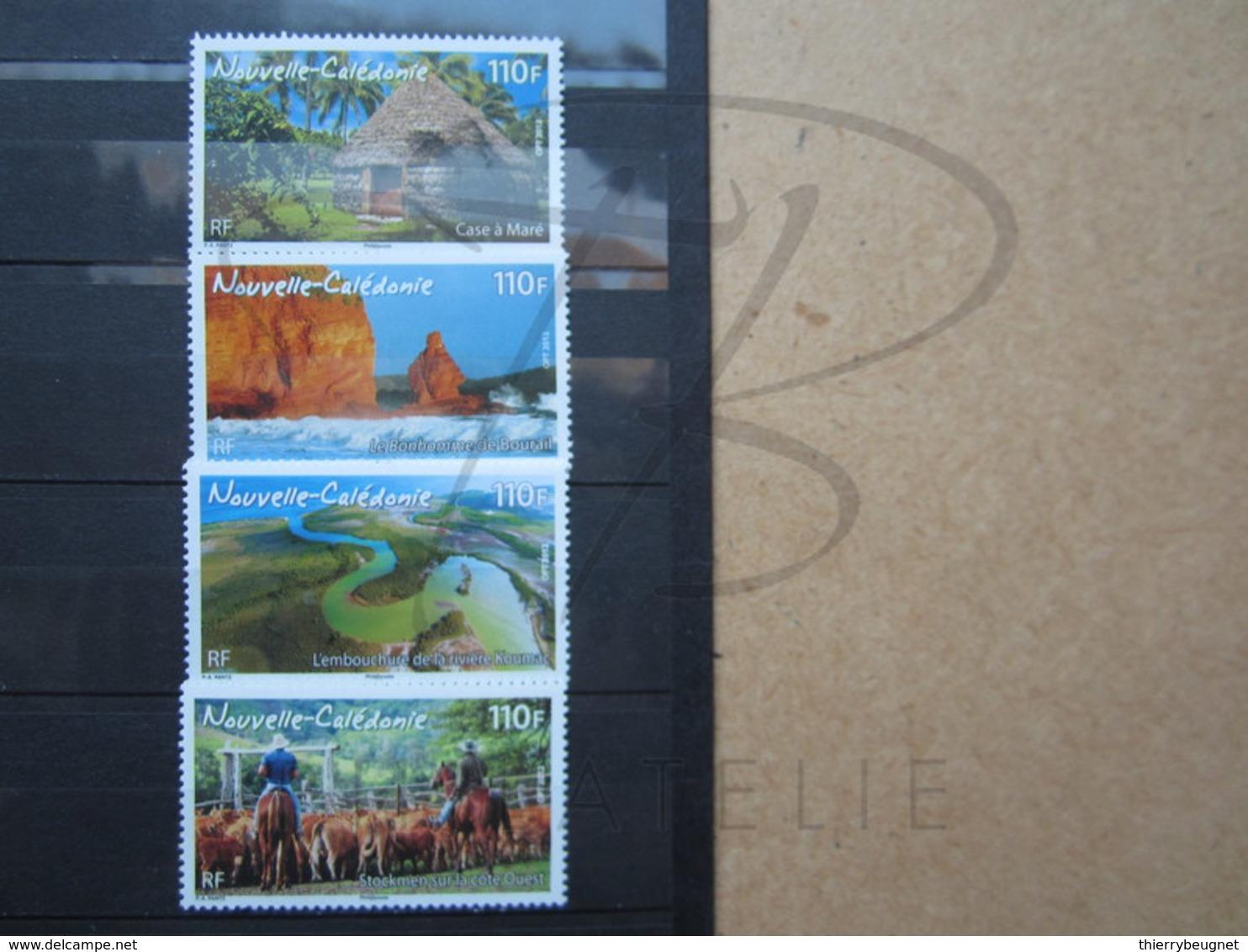 VEND BEAUX TIMBRES DE NOUVELLE-CALEDONIE N° 1154 - 1157 , XX !!! - Nueva Caledonia