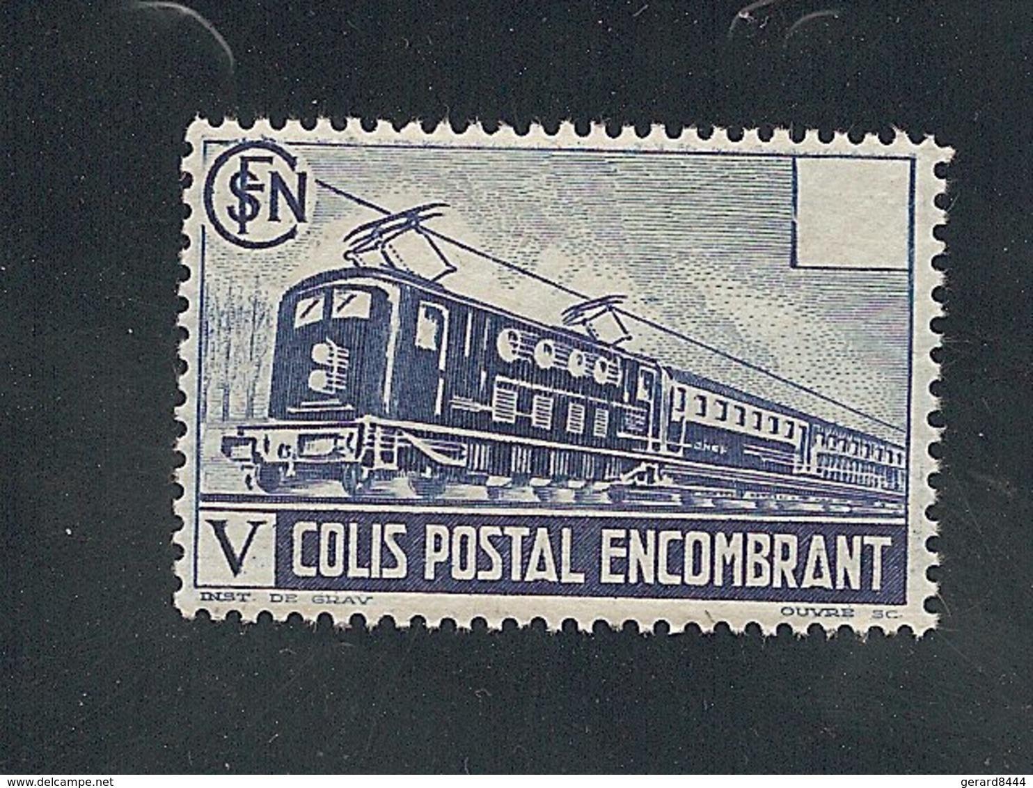 Colis Postaux  N°  182** , Nstc - Mint/Hinged