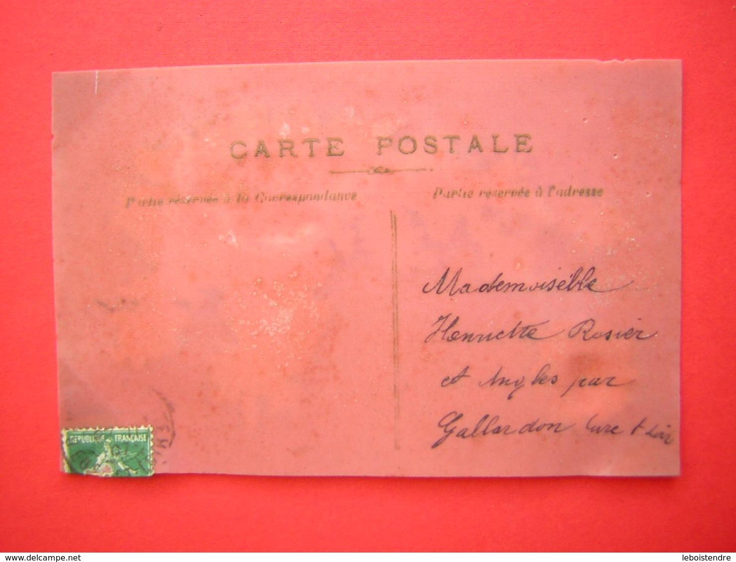 CPA SORTE DE PLASTIQUE RHODOÏD FANTAISIE DECOUPIS SOUVENIR D'AMITIE    VOYAGEE  TIMBRE - Cartes Postales