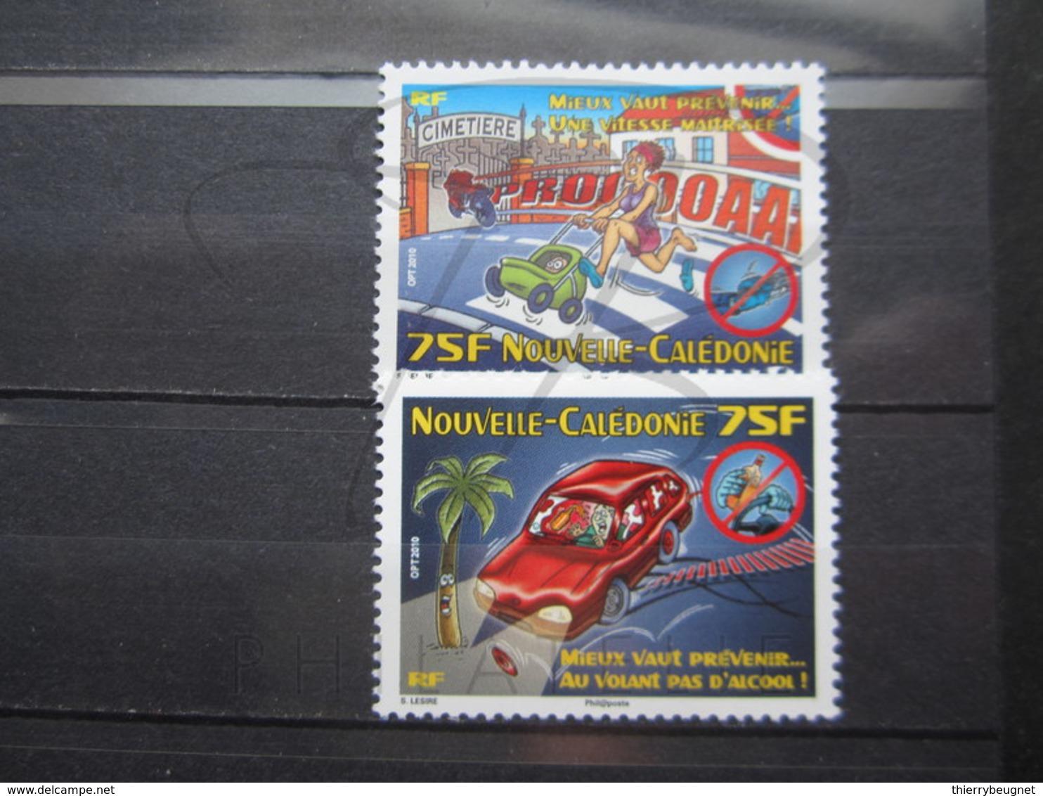 VEND BEAUX TIMBRES DE NOUVELLE-CALEDONIE N° 1113 + 1114 , XX !!! (b) - Nuevos