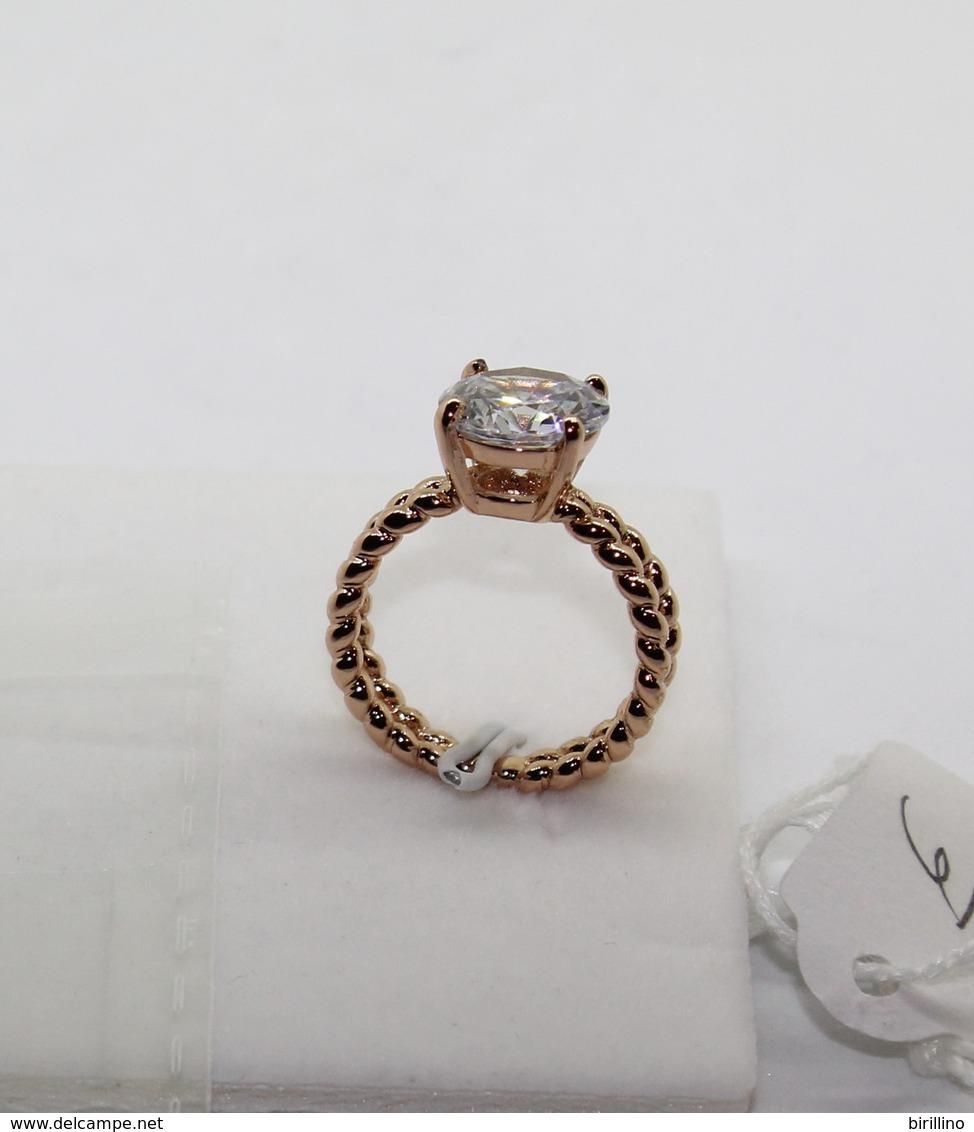 Anello Da Donna  925 Argento Sterling Color Oro - Anelli