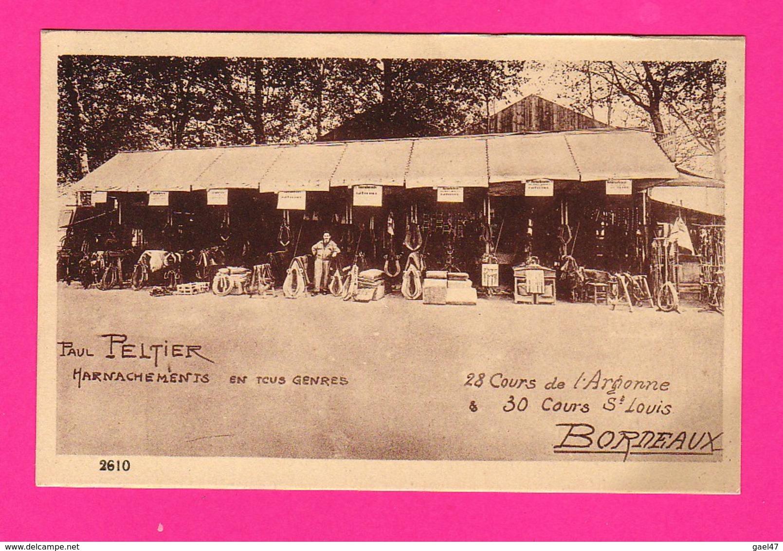 CPA (Ref Z1211) BORDEAUX (33 GIRONDE) Paul PELTIER Harnachements En Tous Genres - Bordeaux