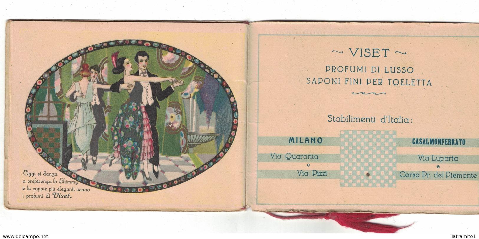 CALENDARIETTO  VISET 1925 DANZE E PROFUMI - Calendari