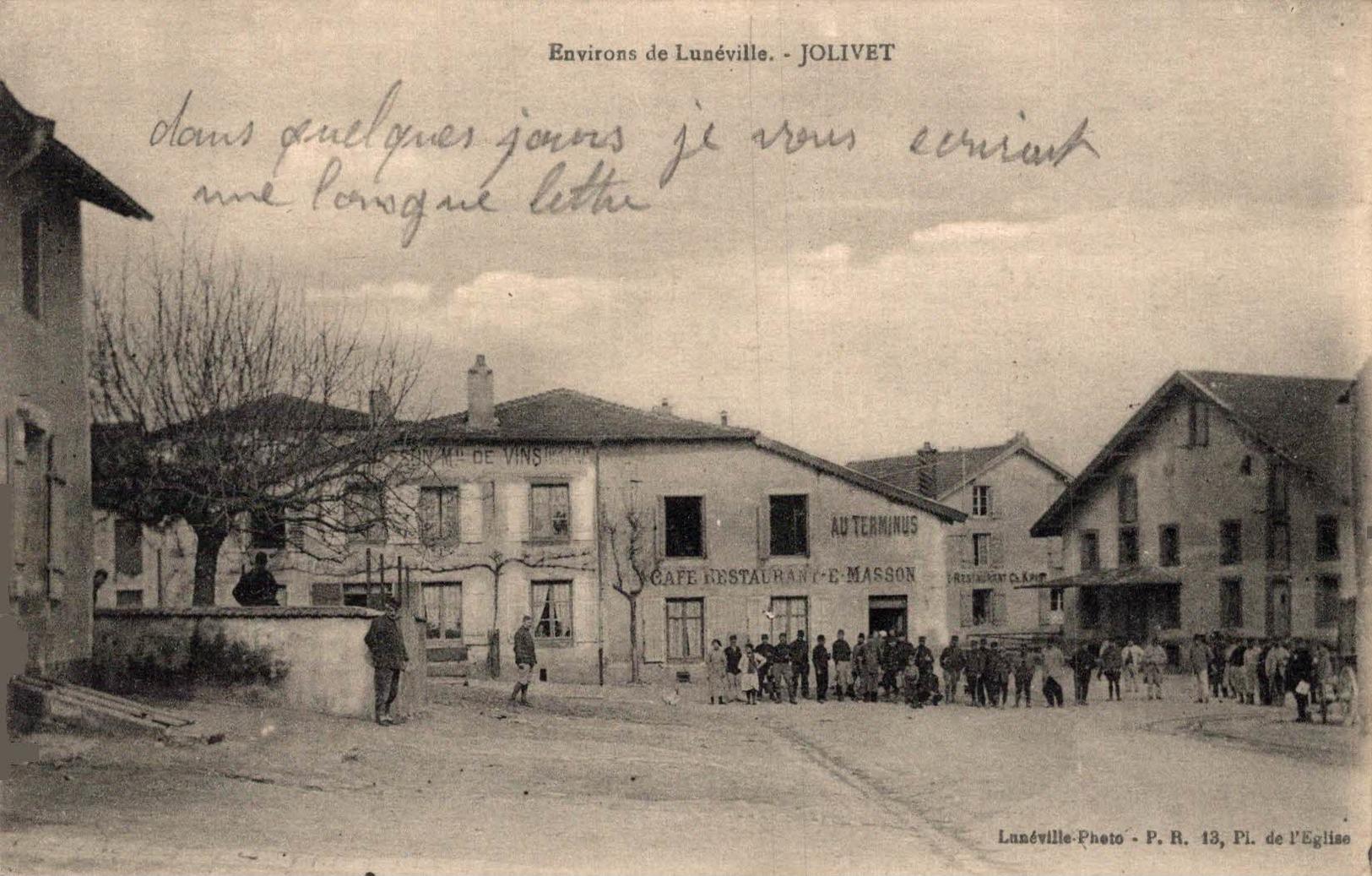 3742-2019   ENVIRONS DE LUNEVILLE   JOLIVET - Luneville
