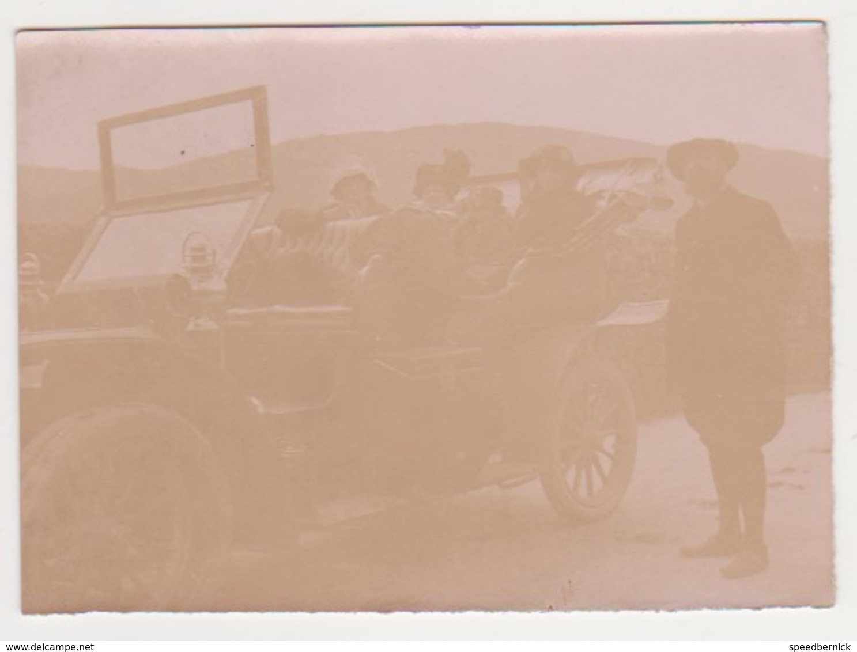 26906 Cinq Photos Voiture Ancienne à Identifier -2cv -belgique - Automobiles