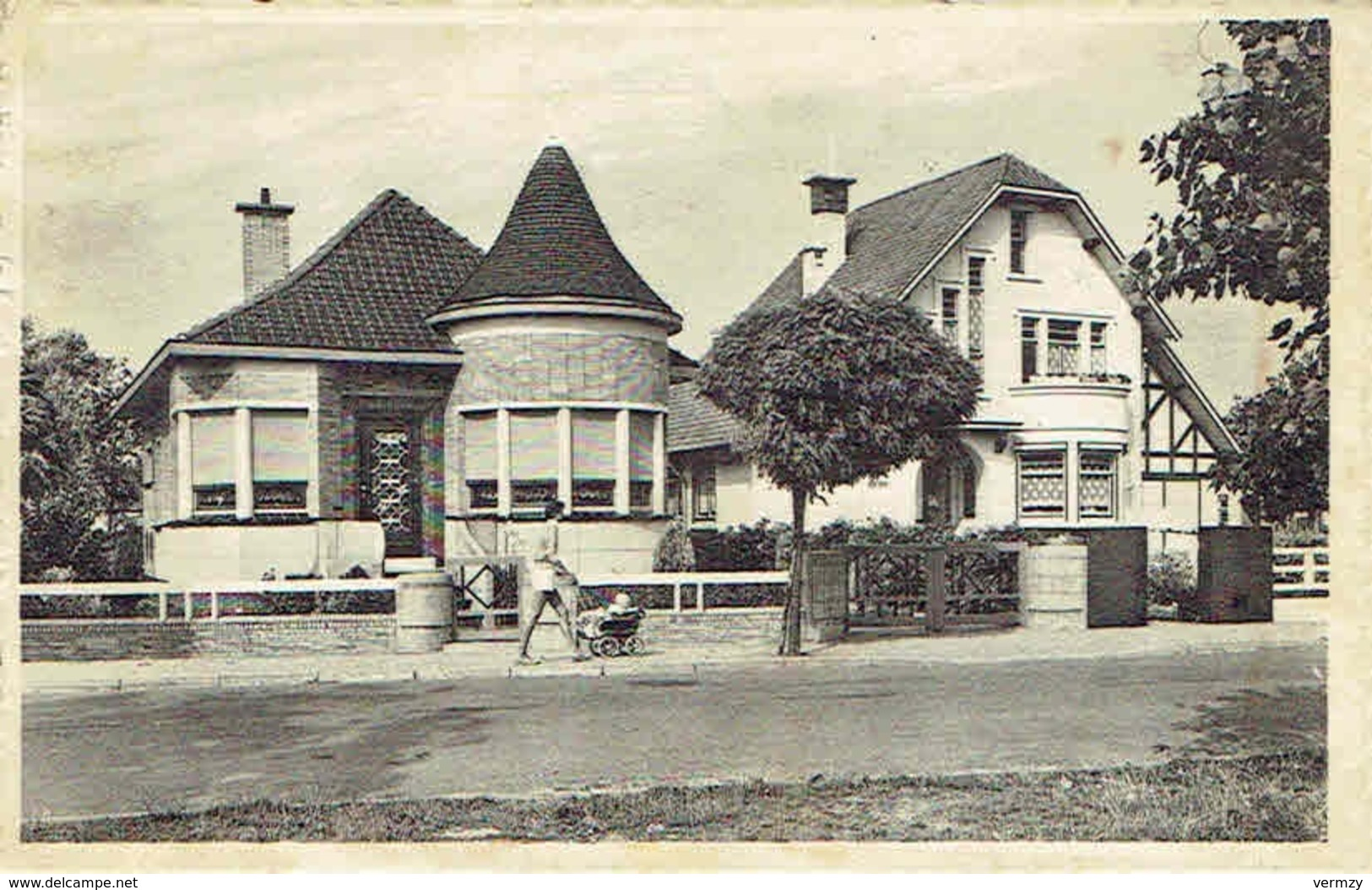 CPA  MIDDELKERKE : Normandische Laan - Middelkerke