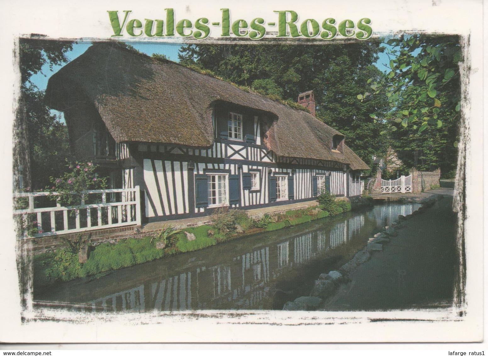 Veules Les Roses Chaumiere Normande - Veules Les Roses