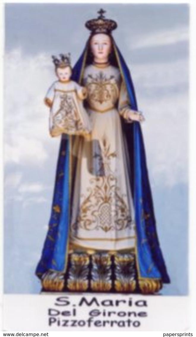 Pizzoferrato, Chieti - Santino SANTA MARIA DEL GIRONE - PERFETTO P86 - Religione & Esoterismo