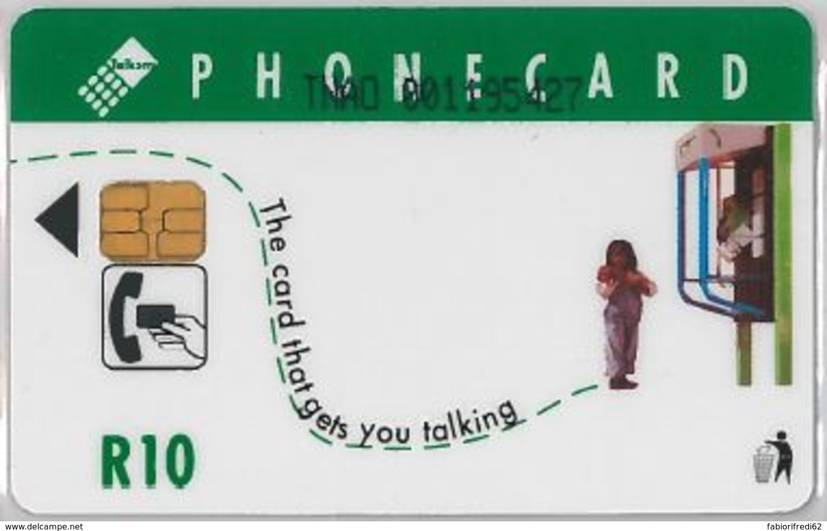 PHONE CARD - SUDAFRICA (E41.24.4 - Afrique Du Sud